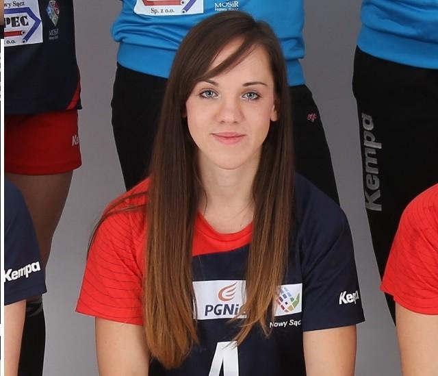 Agnieszka Leśniak z Olimpii/Beskid zajmuje czwarte miejsce wśród najskuteczniejszych snajperek pierwszej ligi grupy B. Zanotowała jak na razie 93 trafienia