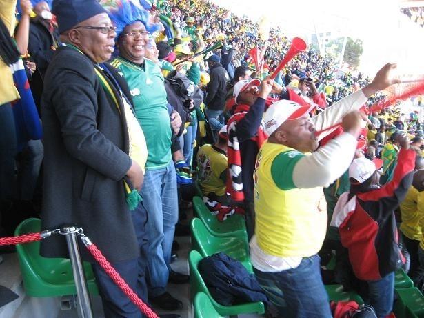 We wtorek francuscy kibice mogli tylko patrzeć z zazdrością na radość fanów RPA