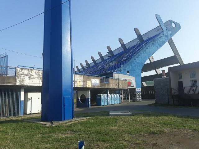 Stadion NK Osijek - 28 lipca 2021.