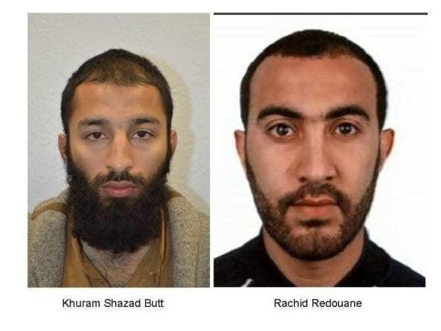 od lewej: Khuram Butt i Rachid Redouane