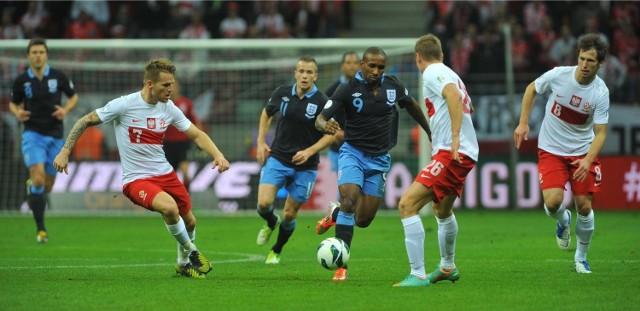 W meczu Polska - Anglia na Stadionie Narodowym padł remis 1:1