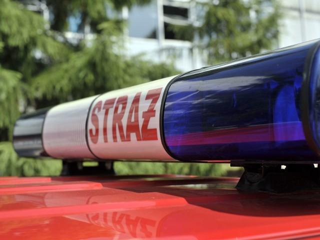 Strażacy ewakuowali SP nr 2 w Ustce. W ramach ćwiczeń.