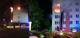 Pożar w wieżowcu przy Starzyńskiego. Jedna osoba nie żyje