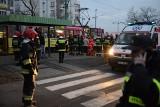 Zderzenie tramwajów na Polance. Kilkanaście osób rannych [ZDJĘCIA]