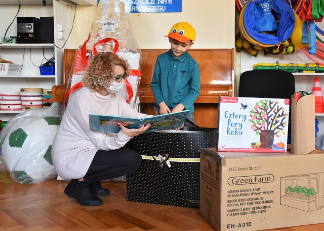Główną nagrodę otrzymał Filip Fąfara z Przedszkola nr 6 w Tarnobrzegu
