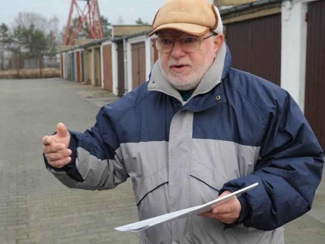Henryk Chenczke mówi, że nie odpuści spółdzielni i będzie walczył o prawa właścicieli garaży.