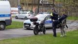 Wypadek szambiarki i motocykla w Łodzi. Kierowca jednośladu trafił do szpitala, ale jego życiu nie zagraża niebezpieczeństwo ZDJĘCIA