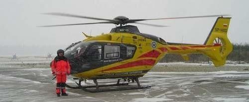 Eurocopter stacjonuje w Goleniowie.