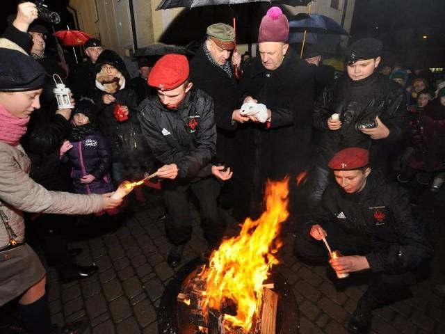 Betlejemskie Światło pokoju trafiło już do mieszkańców Bielska Podlaskiego (na zdjęciu). Teraz czas na Białystok.