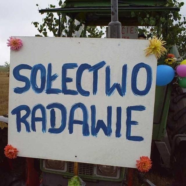 Dozynki gminne w Radawiu. Zdjecia przyslal internauta Daniel Mozwillo (www.radawie.webpark.pl