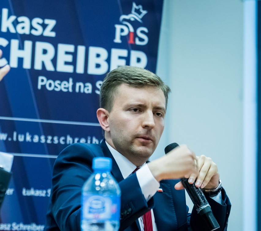 Poseł Łukasz Schreiber