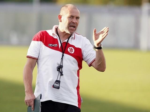 Marek Chojnacki pozostanie trenerem ŁKS.