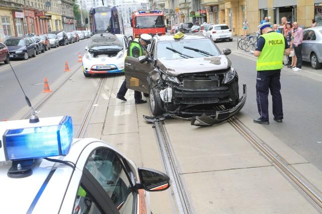 Wypadek na Jedności Narodowej we Wrocławiu