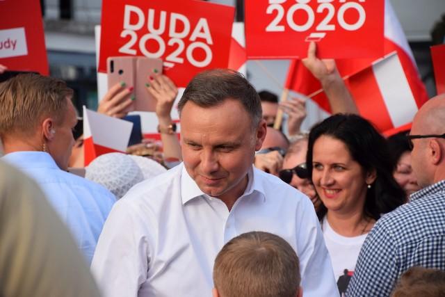 Andrzej Duda wygrywa w województwie podlaskim