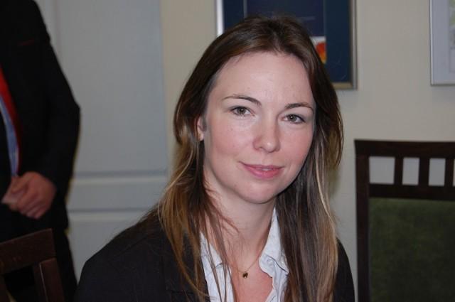 Agata Frohlke jest szefową ośrodka wsparcia w Tucholi.