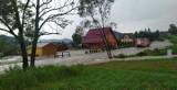 Potężna burza przeszła nad gminą Uście Gorlickie. W Regietowie zalany został hotel, w Hańczowej podtopione domy