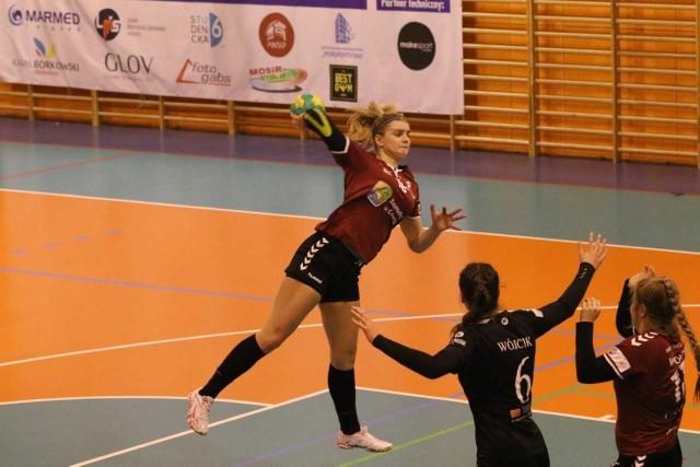 Michalina Gryczewska w meczu Samborem zdobyła swoją 100 bramkę w sezonie i jest trzecią najskuteczniejszą zawodniczką ligi