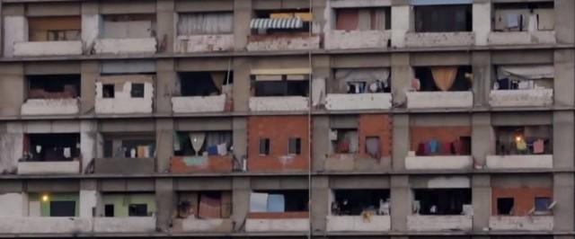 Wieża Dawida w CaracasWieża Dawida: najwyższy squat na świecie (WIDEO)