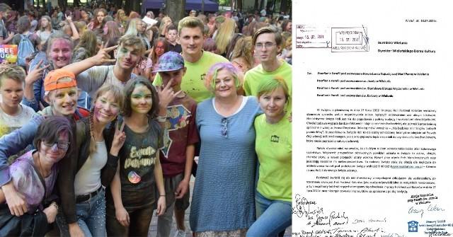 Do Burmistrza Wielunia i Wieluńskiego Domu Kultury wpłynęło pismo będące sprzeciwem wobec organizacji Holi Festiwalu Kolorów w mieście. Zdaniem oponentów to oddawaniem czci obcym bóstwom, zagrożenie dla zdrowia, a nawet okazja do molestowania kobiet. Pismo zostało wysłane także do wiadomości wieluńskich parafii. Głos w sprawie zabrał Paweł Okrasa, burmistrz Wielunia. CZYTAJ DALEJ >>>.