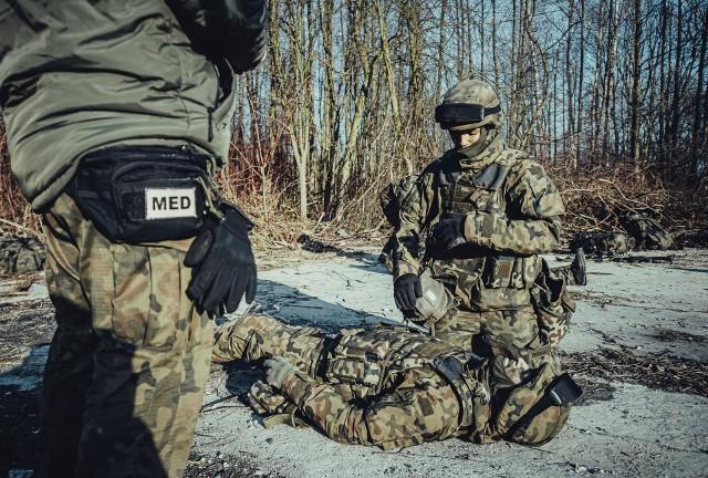 13 Śląska Brygada Obrony Terytorialnej - szkolenie medyczne