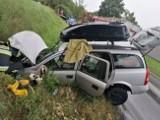 Wypadek w Bocheńcu pod Golubiem-Dobrzyniem. Wśród rannych dwoje dzieci