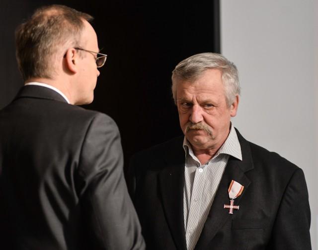 Wawrzyniec Rozenberg był aktywnym działaczem NSZZ Solidarność
