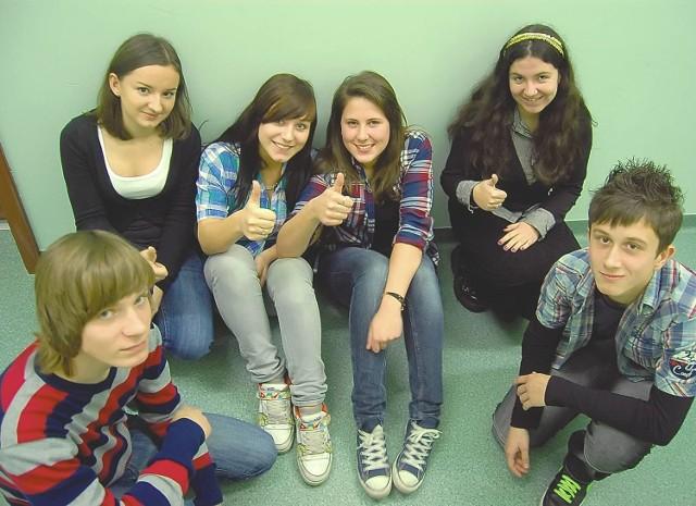 Uczniowie liceum imienia Prusa cieszą się z tego, że mogą się uczyć w nowych klasach