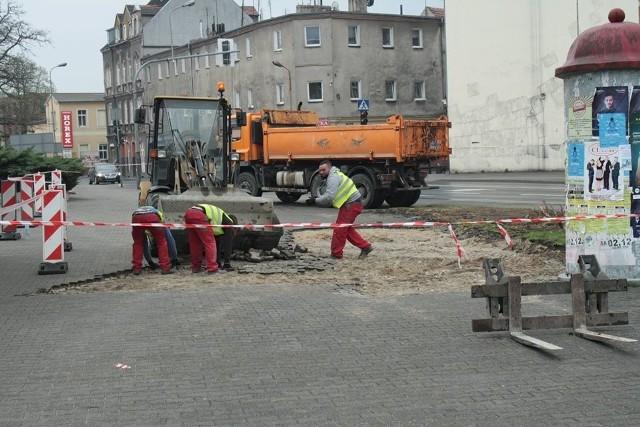 Rozpoczęła się przebudowa skrzyżowania w Gubinie.