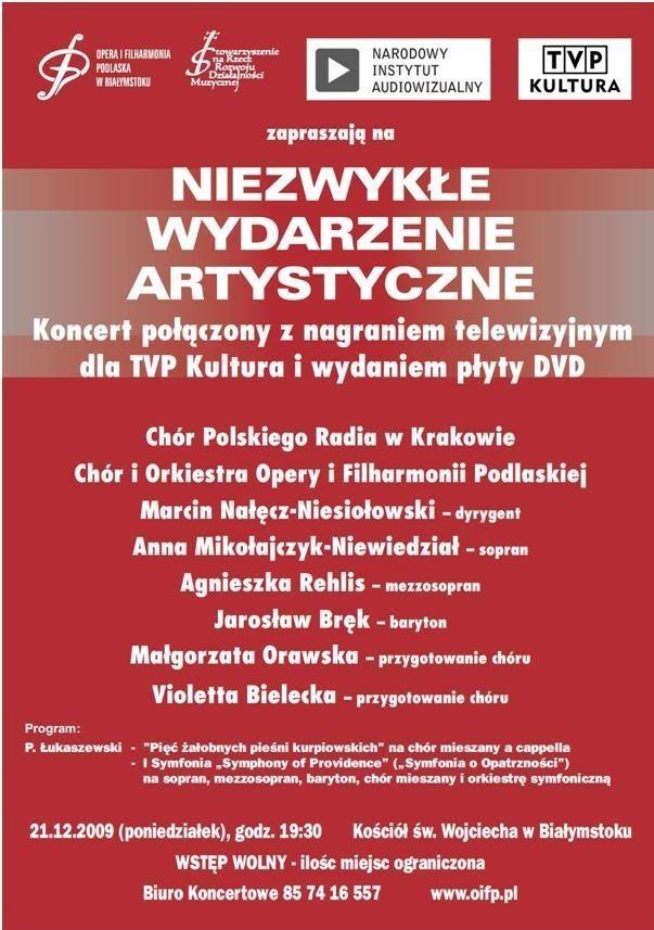 W koncercie będzie można ponownie uczestniczyć 2 i 4 kwietnia.