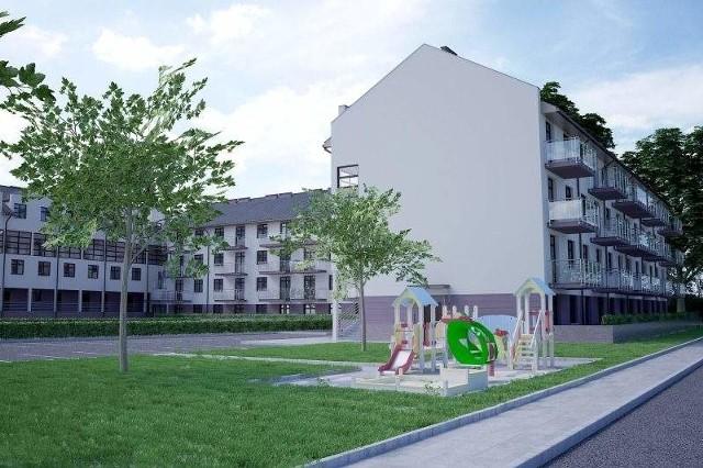 TBS w Opolu miał budować mieszkania. Nic z tegoTak miał wyglądać nowy budynek TBS-u z 66 mieszkaniami. Na razie jednak inwestycja jest zbyt ryzykowna.