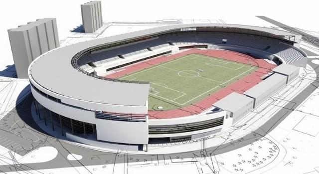 Tak nowy stadion ma wyglądać według koncepcji przygotowanej przez architektów.