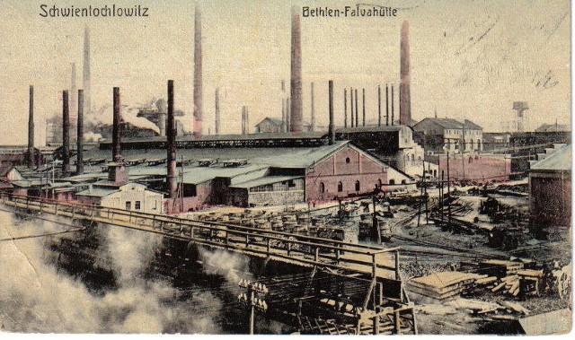 Archiwalne zdjęcia i pocztówki ze zbiorów Muzeum Powstań ŚląskichFalvahutte, 1912 rok