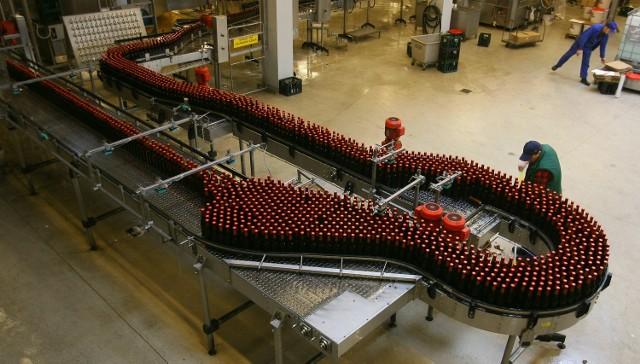 Z taśmy browaru w Rakszawie schodzą kolejne butelki Karpackiego. Czy to piwo bedzie produkowane w Koszalinie? Zobaczymy.