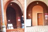 """Drzwi prosto z marketu wstawiono w budynku z XIX wieku, w którym mieści się starostwo w Malborku. Internauci: """"Gdzie jest konserwator?"""""""