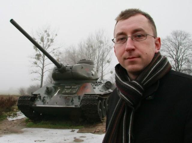 - Jako muzeum będziemy mogli zabiegać o zabytkowy sprzęt wojskowy - mówi Leszek Lisiecki, któremu powierzono obowiązki dyrektora muzeum.
