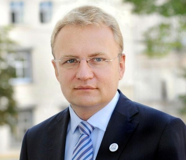 Andriy Sadovyy, mer Lwowa