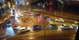 Świnoujście - strajk kobiet w samochodach. Mężczyzna groził nożem. W sobotę były obrzucone petardami