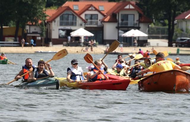Spływy kajakowe po Rudniku są jedną z wakacyjnych atrakcji przygotowywanych przez Miejski Ośrodek Rekreacji i Wypoczynku w Grudziądzu