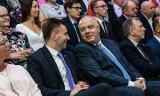 Sekretarza Stanu Łukasza Schreibera wsparł wicepremier Jacek Sasin [zdjęcia]