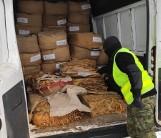 Tuplice. Nielegalny tytoń o wartości miliona złotych zarekwirowała straż graniczna