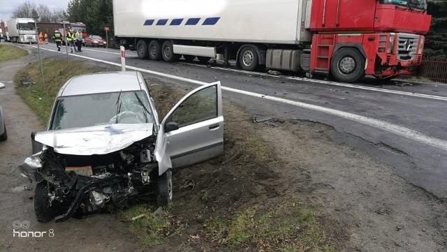 Wypadek w Jaworzu Górnym, w powiecie dębickim.
