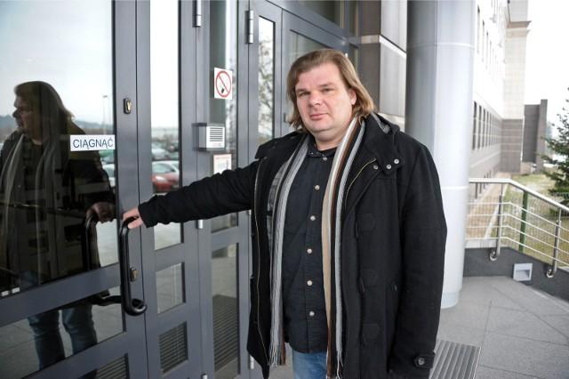 Rafał Gaweł nigdy nie żądał anonimowości