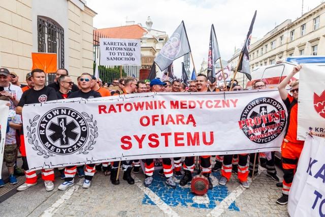 Po czerwcowych protestach ratowników, kolejna manifestacja ma odbyć się 11 września w Warszawie