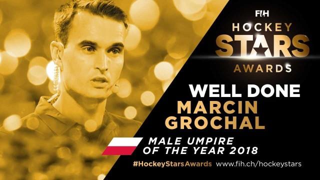 Marcin Grochal jest sędzią hokeja na trawie już od 16 lat
