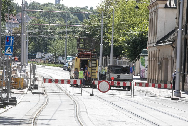 Przebudowa ulicy Krakowskiej