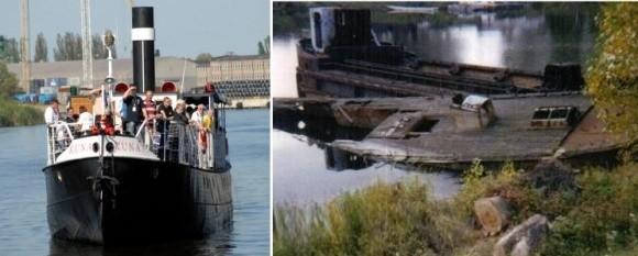 Tak dziś wygląda Kuna po rewitalizacji. Przez 20 lat niszczała od chwili, gdy zatonęła w 1981 r.