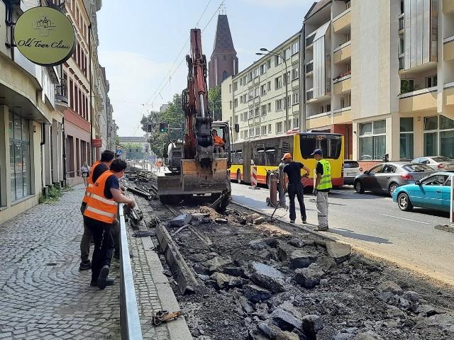 Rozpoczął się remont torowiska na ul. św. Mikołaja