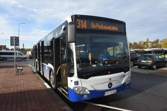 Autobus 314 nie kursuje już przy nowej siedzibie Szpitala Uniwersyteckiego