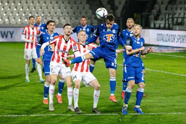Cracovia ostatnio wygrała z Lechem Poznań 2:1