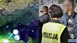 Koledzy pożegnali nurków, którzy utonęli w niedzielę w Sobótce